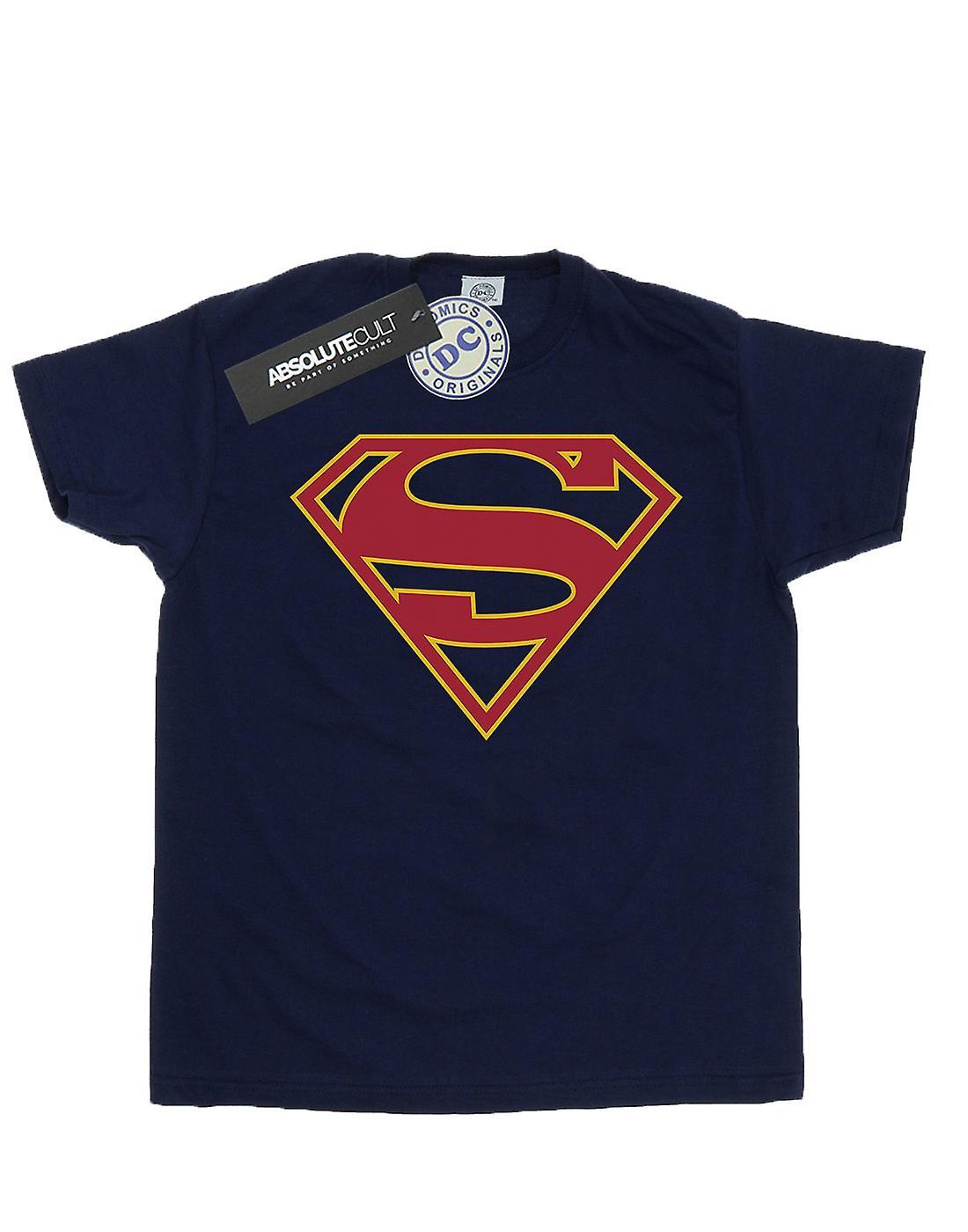 DC Comics Men's Supergirl Logo T-Shirt