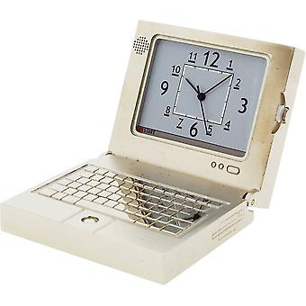 Gift Time Products Laptop Computer Miniature Clock - Silver