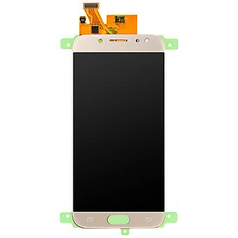 Repuesto de pantalla LCD con pantalla táctil para Galaxy J7 2017 - oro