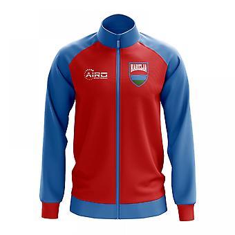 Karjalan käsite jalkapallo Track Jacket (punainen)