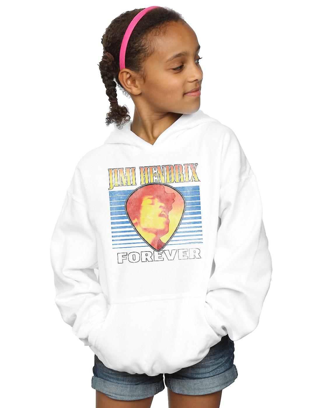Jimi Hendrix Girls Retro Forever Hoodie