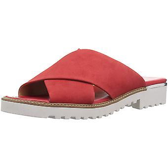 Franco Sarto Womens L tilden Open Toe Casual Slide Sandals
