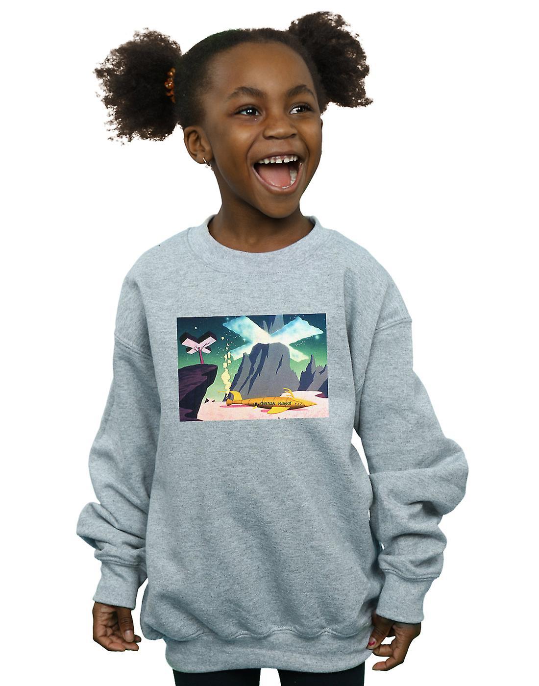 Looney Tunes Girls Martian Maggot Sweatshirt