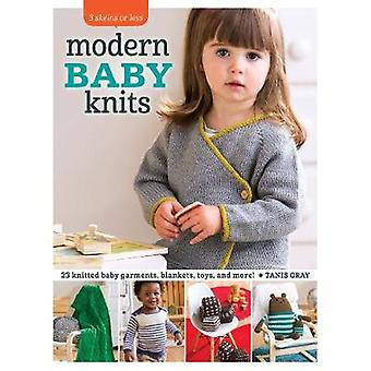 Modern Baby Knits - 23 Knitted Baby Garments - Blankets - Toys - and M