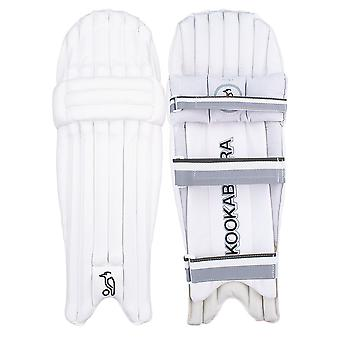 Kookaburra 2019 Ghost 5.0 Cricket Wimper Pads Leg Guards weiß/grau