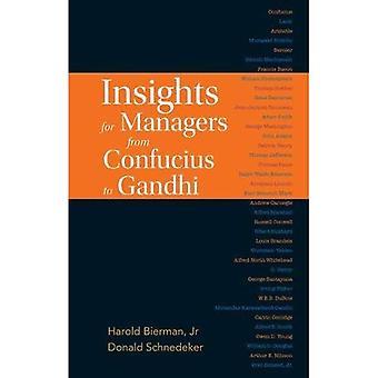 Insikter för chefer från Konfucius till Gandhi