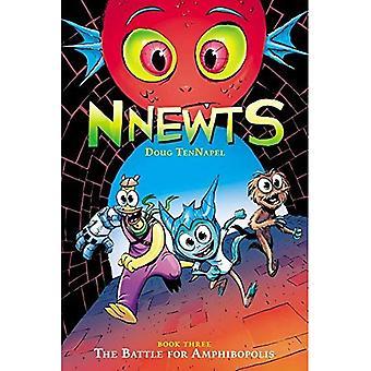 Battle for Amphibopolis, the (Nnewts #3) (Nnewts)