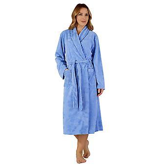 Slenderella HC3307 ženy ' s tkaným rúcho loungewear kúpeľňové šaty