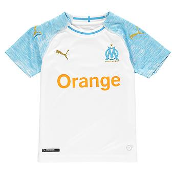 PUMA Kinder Marseille Home Shirt 2018 2019 Junior