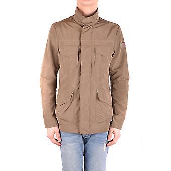 Peuterey Ezbc017078 Men's Brown Polyester Outerwear Jacket