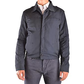 Costume National Ezbc066021 Men's Blue Polyester Outerwear Jacket