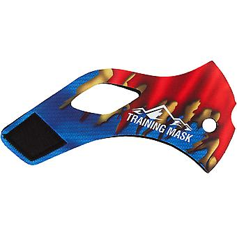 Elevation Training Mask 2.0 Super Steel - Red/Blue/Yellow