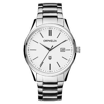 ORPHELIA Mens Analogue Watch Classy Silver Stainless steel 62505