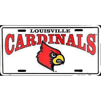 Louisville Cardinals NCAA License Plate