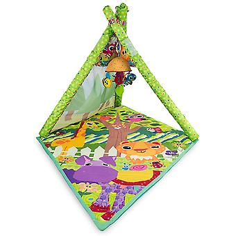 Tomy Lamaze 4 In 1 Teepee Play Gym Baby Toddler Playmat Children