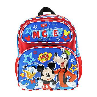 Small Backpack - Disney Mickey Mouse - Hey Friends 12