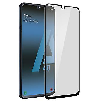 Galaxy A40 Tempered Glass Beveled Edges Tiger Glass Muvit Black