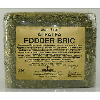 Gold Label Alfalfa Fodder Bric - 1kg