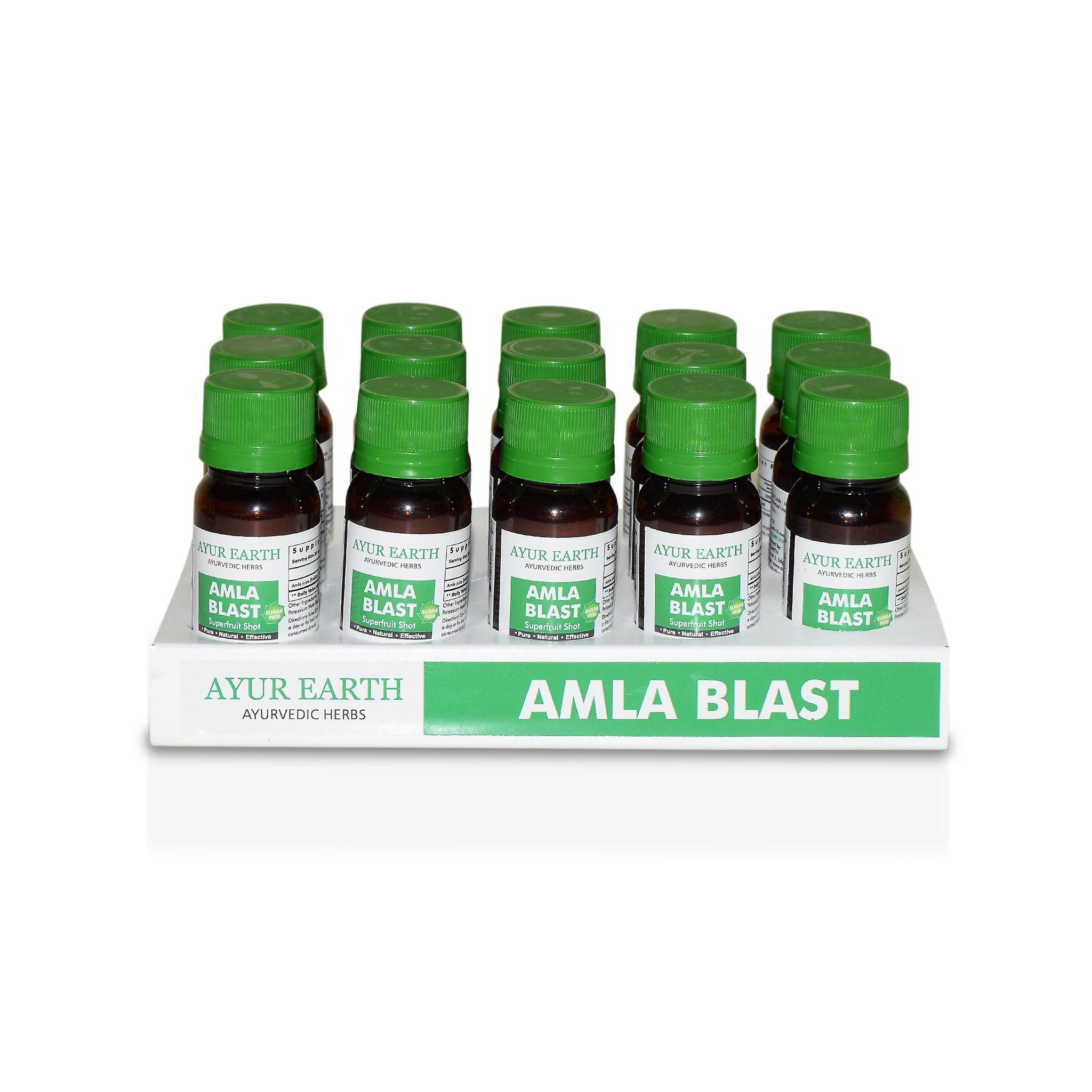 Ayurveda Herbal Shots - Amla Superfood Blast - Each Shot 30000 Mg