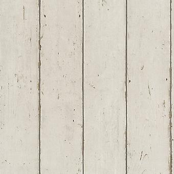 Rasch Barbara Becker hout Beam panel patroon behang faux effect Reliëf 479645