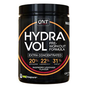 QNT Hydravol Pre Workout Supplement für intensives Training - Himbeere & limonade