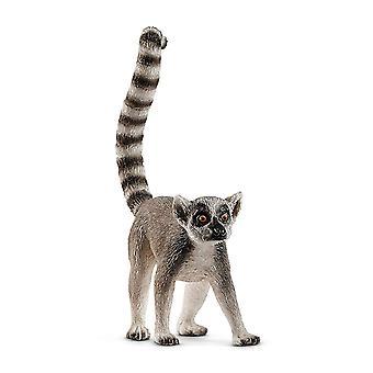 Figure de lémur Catta Schleich 14827 vie sauvage