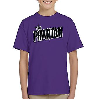 The Phantom Text Logo Kid's T-Shirt