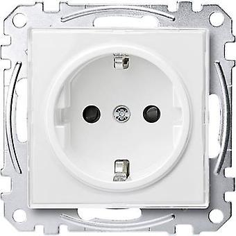 Merten Insert PG socket M-Creativ Transparent, Polar white MEG2300-3500