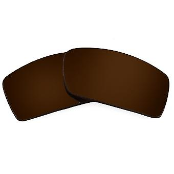 Polarized Replacement Lenses for Oakley Gascan Sunglasses Brown Anti-Scratch Anti-Glare UV400 by SeekOptics