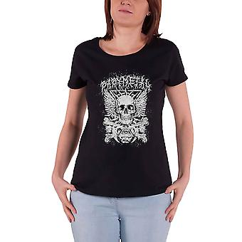 Babymetal T Shirt Crossbone Band Logo new Official Womens Skinny Fit Black