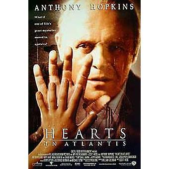 Sydämet Atlantis Original Cinema-julisteessa