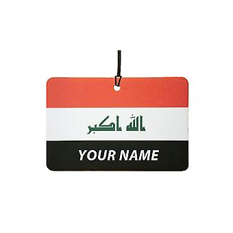 Iraq Flag Custom Car Air Freshener