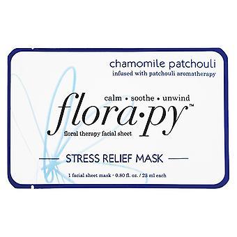Florapy thérapie florale facial thérapie masque de soulagement masque de soulagement camomille patchouli