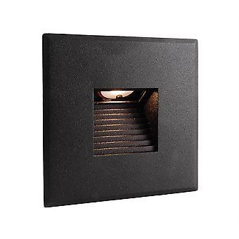 Cover black angular for Light Base COB Indoor