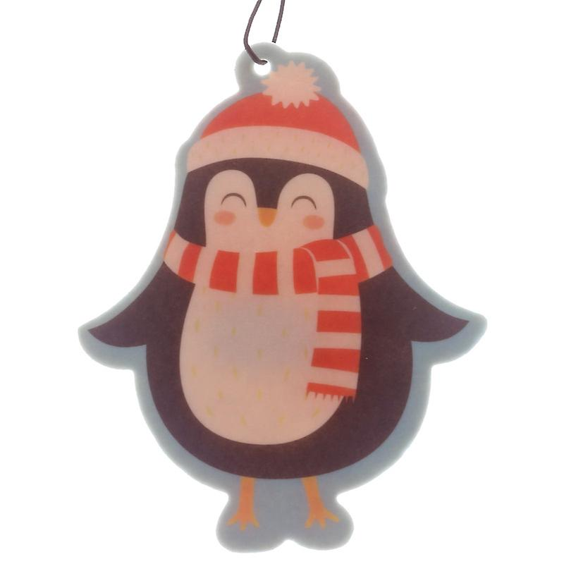 Penguin Shaped Cinnamon Scented Christmas Air Freshener