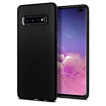 Hull voor Samsung Galaxy S10 Plus Liquid Air Black Mat