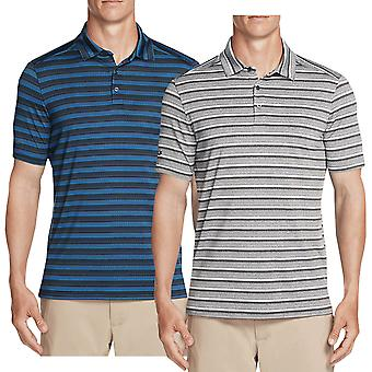 Skechers Golf Mens Abordagem Stripe Performance Active Wicking Polo Shirt