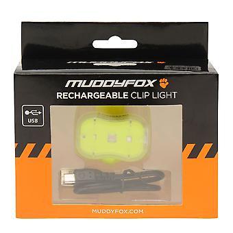 Muddyfox Unisex Clip Rechargeable Light