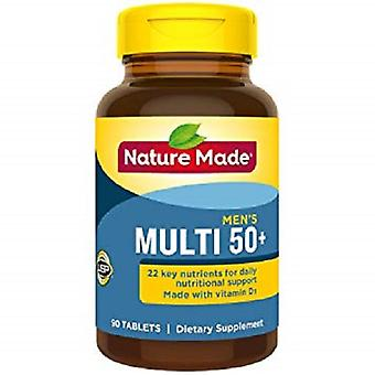 Nature Made Multi For Him 50+ 2 Bottle Pack