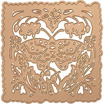 Spellbinders Shapeabilities Dies Af Sharyn Sowell - Butterfly & Flora 4.15