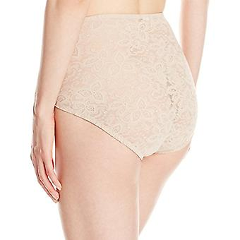 Bali Women's Shapewear Lace N Smooth Brief, Nude, X-Large, Nude, Size X-Large