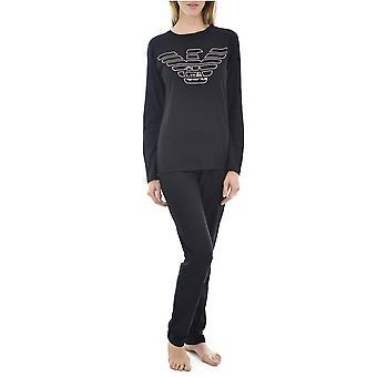 Pyjamas 2pces Cotone Logo 164259 9a255 - Emporio Armani