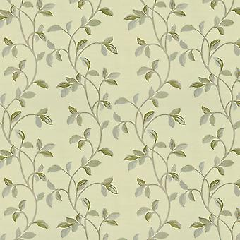 McAlister textilier Annabel blommig salvia grön tyg
