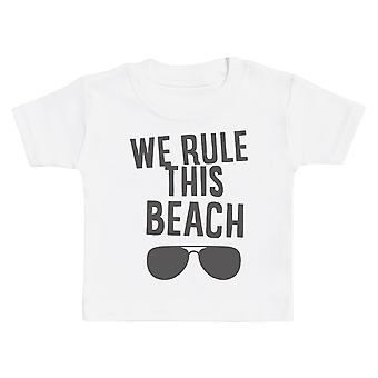 We Rule This Beach - Matching Set - Baby Bodysuit & Kids T-Shirt, Mum & Dad T-Shirt