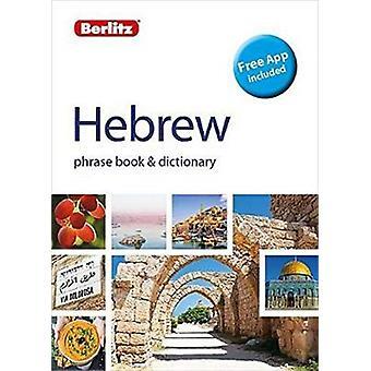 Berlitz Phrase Book  Dictionary HebrewBilingual dictionary