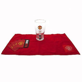 Manchester United FC Official Mini Bar Set