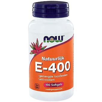 E-400 gemengde tocoferolen (100 Softgels)-nu Foods