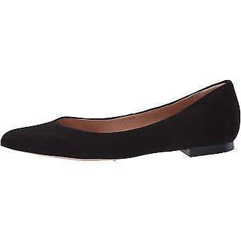Corso Como Womens Jullia Leather Pointed Toe Ballet Flats