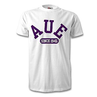 Erzgebirge Aue 1945 gegründet Fussball T-Shirt
