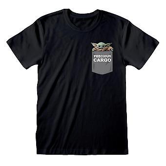 La t-shirt mandaloriana Unisex Precious Cargo Black